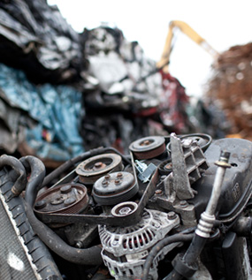 photo of scrap metal